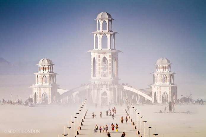 A photograph from Burning Man 2011 by photojournalist Scott London. For more info, please visit: www.scottlondon.com/burningman
