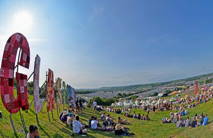 Glastonbury Festival held each year in Somerset, England. Photo by Jaswooduk