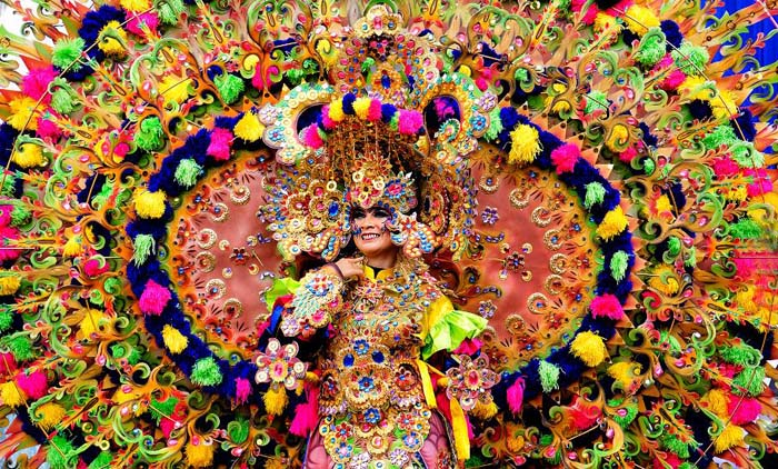 Incredible costumes at the Carnaval, Rio de Janiero. Photo by Adang Yusuf