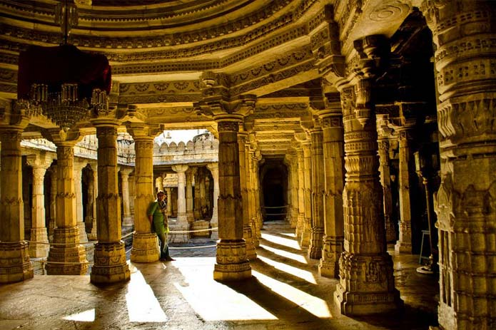 Known as the pillars of belief, the Jaim temples at Ranakpur in Rajasthan. Photo by PNike