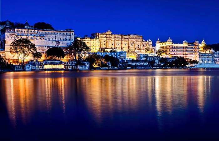 The city palance of Udaipur where the Maharaja King lives. Photo by PNike