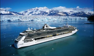 3 Norweigan Cruise and Lines drifting past glaciers in the northern Fjords1