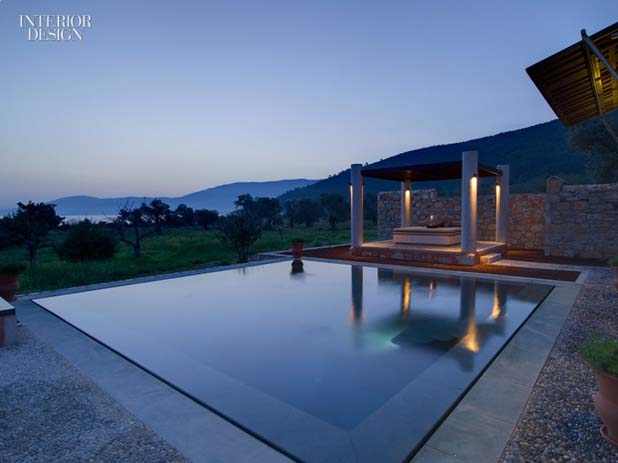 A private guest house at Amanruya on the Bodrum Peninsula in Turkey. Photo by Interior Design, Pinterest