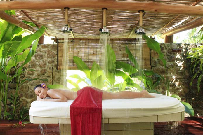 Enjoy a spa treatment while you're in Bora Bora. Photo by Select Vacations