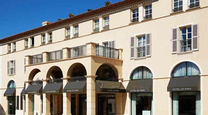 Hotel de Paris Saint-Tropez. Photo courtesy of the hotel