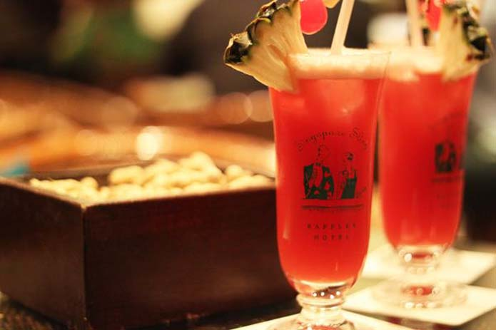 Knock back a few of these Singapore Slings and you'll be doing okay. Photo by Suma Beach Lifestyle
