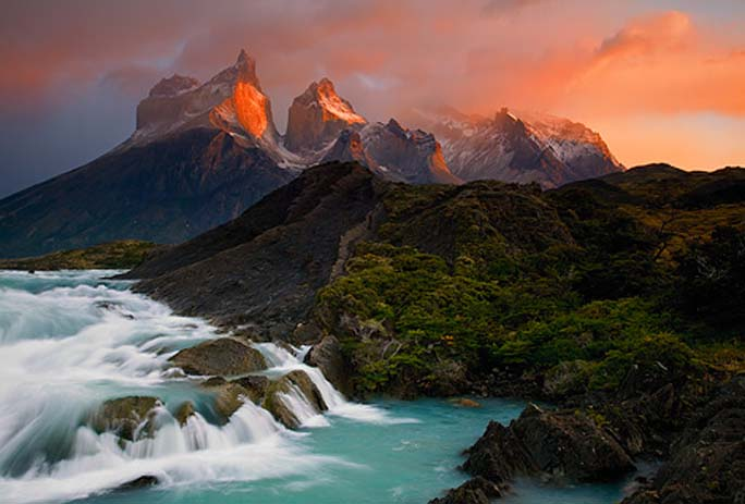 Los Cuernos Del Paine, Patagonia, Chile. Photo by Ian Plant