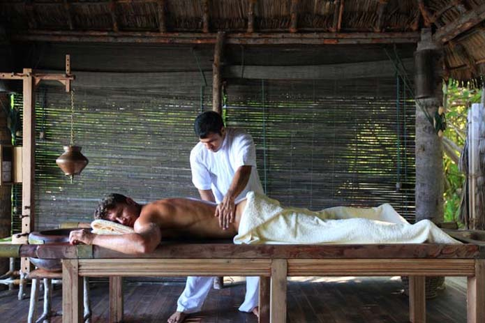 Take a relaxing massage in the Maldives. Photo by Global Black Book