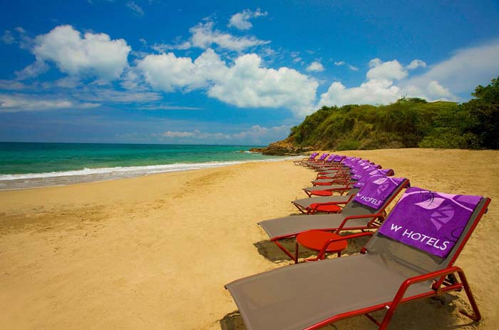 W Retreat & Spa, Vieques Island, West Beach, Puerto Rico. Photo by W Worldwide