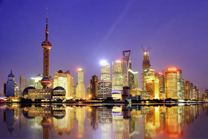 Shanghai skyline. Photo by Kenny Teo, flickr
