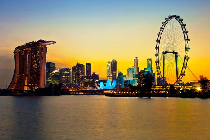Singapore skyline. Photo by Kenny Teo, Flickr