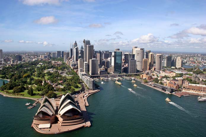 Sydney skyline. Photo by wikimedia