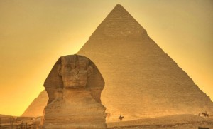 2 - The Great pyramids and Spinix, Photo by matt champlin, flick