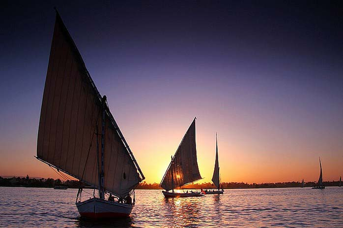 Sailing down the Nile. Photo by Lucie Debelkova, flickr