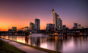 4 - Frankfurt Skyline, Photo by rednaxela_west , Flickr