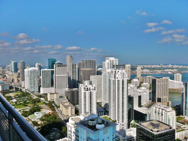 Miami skyline. Photo from wikipedia