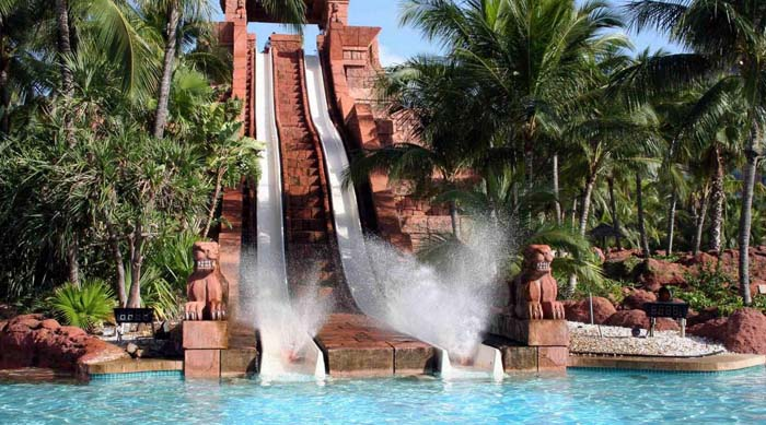 Waterslide at Atlantis resort. Photo by edsaplan