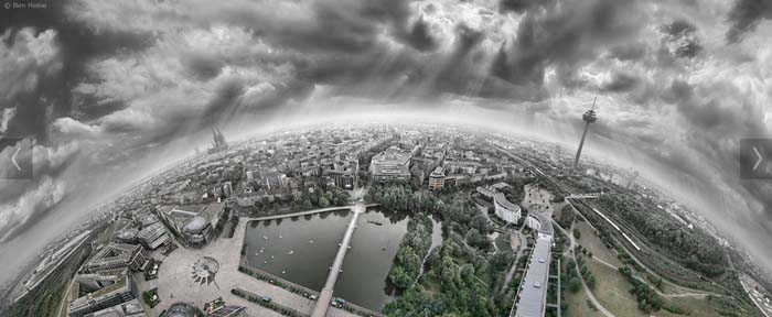 Cologne 360 degree shot, Photo by Ben Heine, flickr