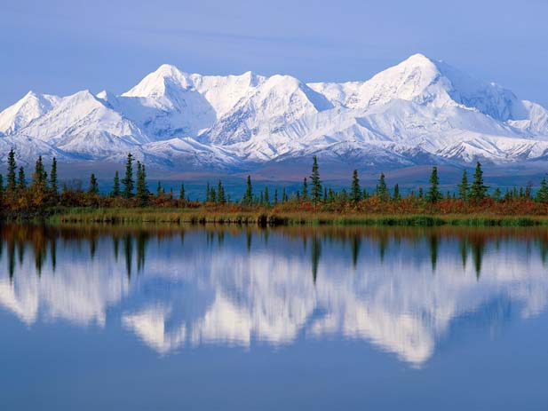 Majestic reflection Anchorage, Alaska, Photo by Free world images