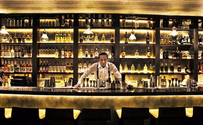 The best cocktails in Hong Kong found at the Quinary. Photo by Sassy Hong Kong
