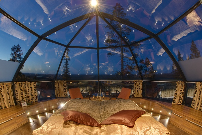 Igloos hotel kakslauttanen Photo by Wolf Blog Google images