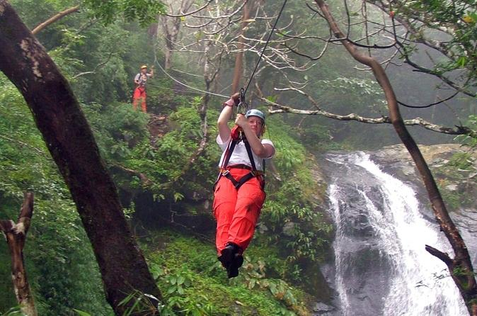 The best zip-line adventures: Zip line tour at Arenal Volcano adventure park, Costa Rica. Photo by viator.com