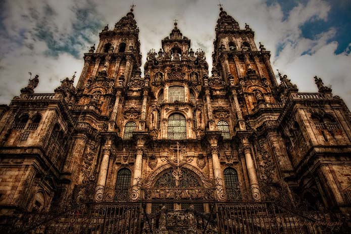Cathedral of Santiago de Compostela. Photo by Jaun Antonio Per, flickr