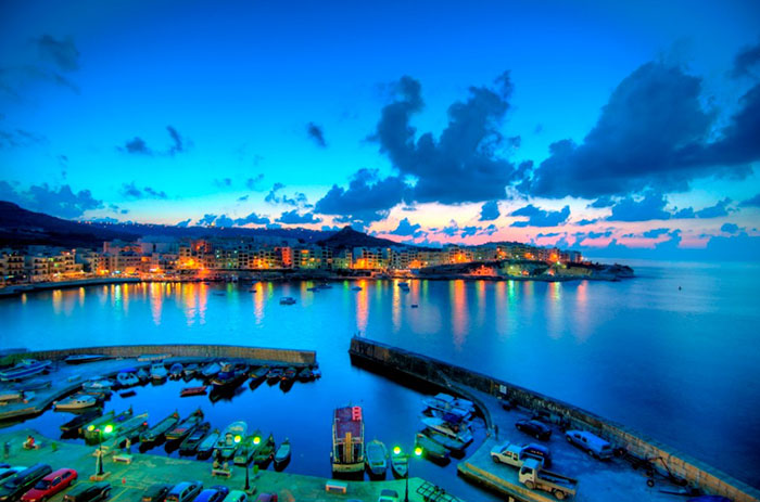 Malta at dusk. Photo by inspirations-travel.co.za
