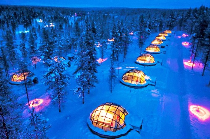 Hotel Igloo Village Kakslauttanen Photo by lostateminor From Pinterest