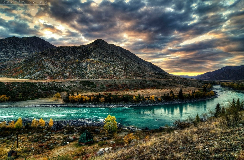 Altai Mountains in autumn, Photo by kudrin.co.uk