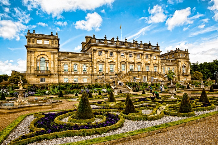 Stunning gardens and house of Harewood on the outskirts of Leeds. Photo by berenice24 flickr