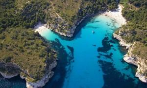 Cala Macarelleta beach, Menorca, Spain, Google Images