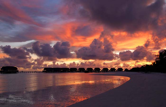 Magical sunset over the Cocoa Islands. Photo by emai, flickr