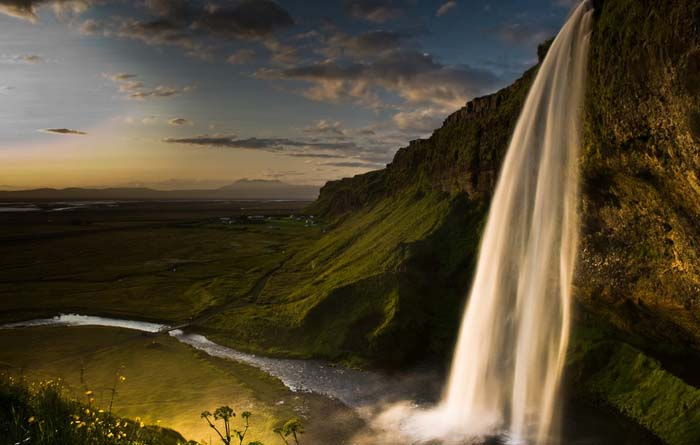 Seljalandsfoss waterfall, Iceland. Photo by Kristinn R, Kristinsson