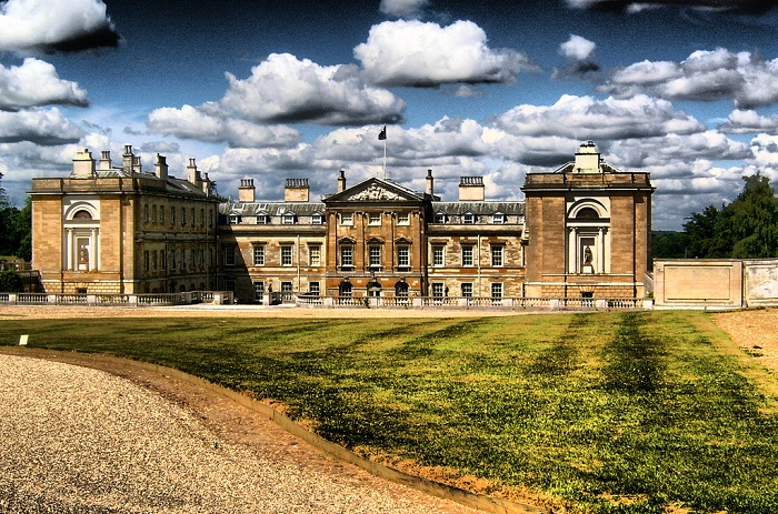 Woburn Abbey is tucked away amongst the beautiful British countryside. Photo by kersalflats flickr