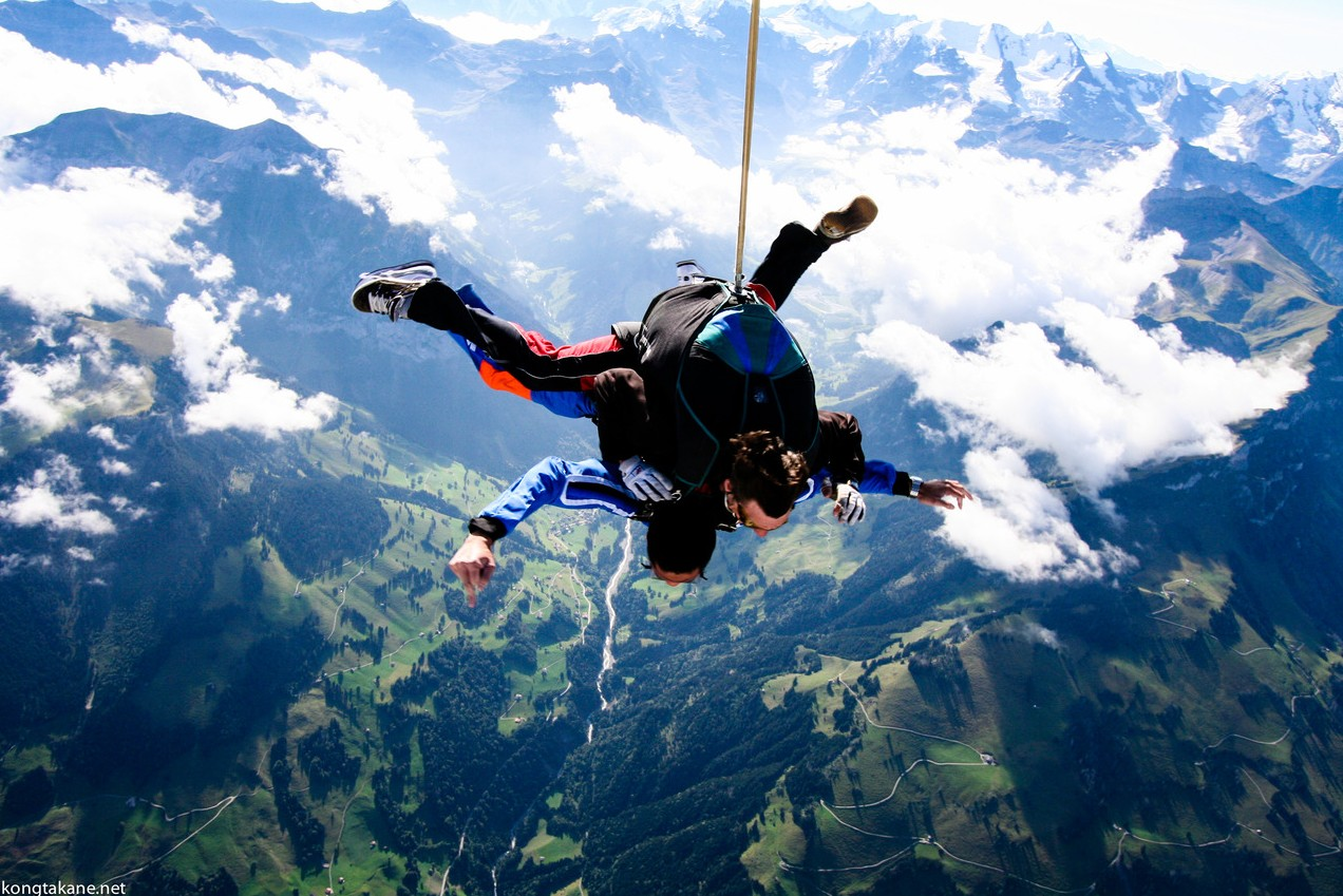 7 of best places to skydive around the world: Interlaken skydiving, Photo by 25.media.tumblr.com