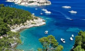 Cruiseships travel through the Adriatic Sea. Photo by Ljubljana Travel