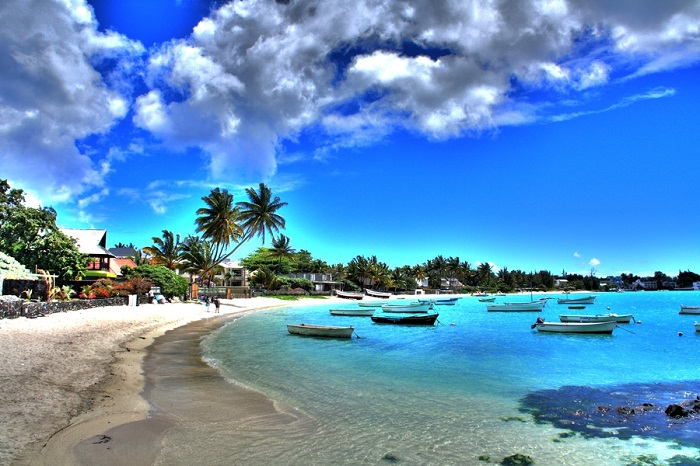 Grand Baie is the most popular beach Mauritius