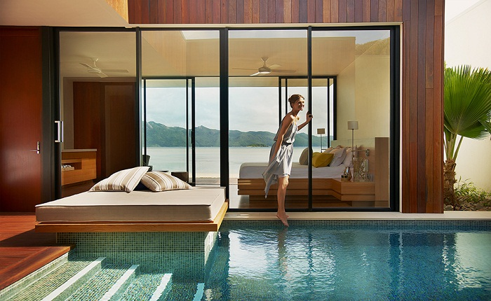 The wonderful beach villas at OneOnly have only one thing in mind Relaxation