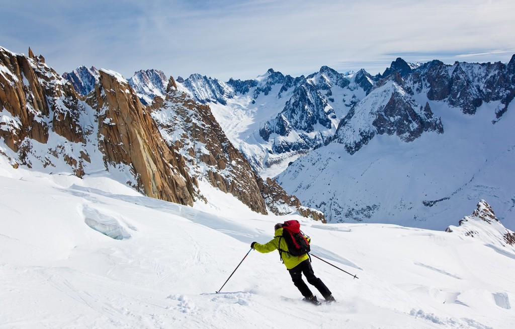 The best places to ski in Europe: Chamonix valley, Mount blanc. Photo by chamonix.net