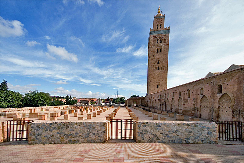 Things to do while staying in Marrakesh: Koutoubia Mosque, Marrakech, Morocco. Photo by bestourism.com