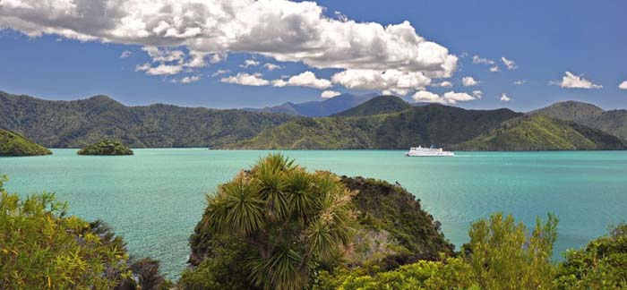Get to the Marlborough Sounds by boat. Photo by lovemarlborough.co.nz
