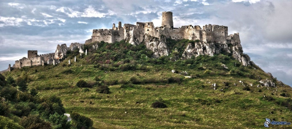 Where to see 9 of the best castles in Europe: Spis Castle, Slovakia. Photo by 4eva.eu