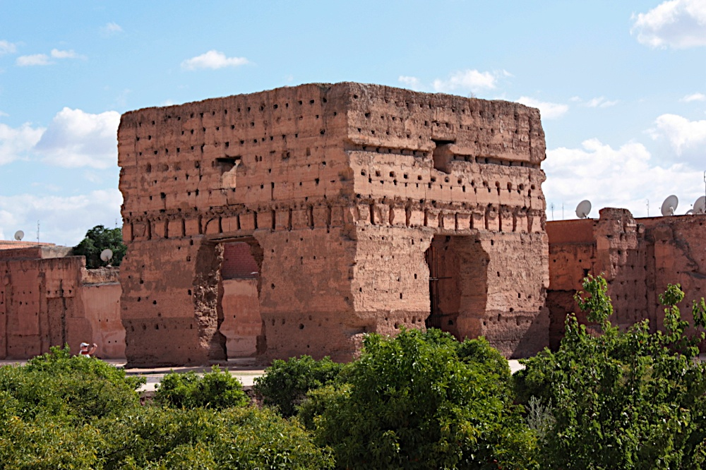 Things to do while staying in Marrakesh: The ruin of El Badii Palace. Photo by darjenna-marrakech.com