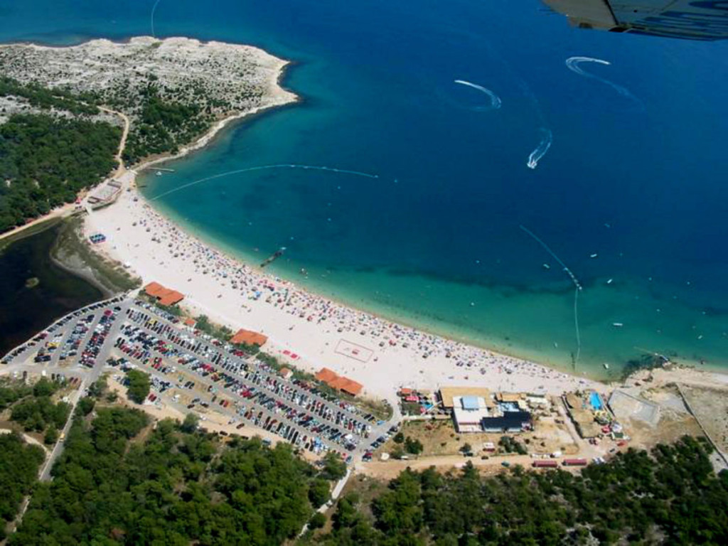 The best beach parties in the world: Pag Island, Croatia. Photo by charterscroatia.com