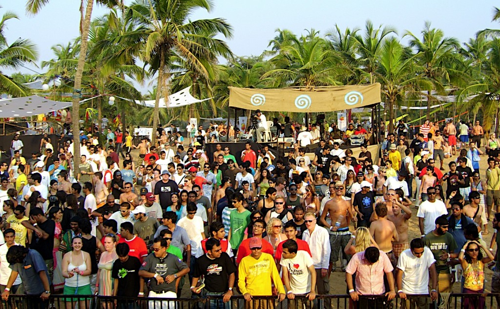 The best beach parties in the world: Sunburn festival, Goa, India. Photo by indiawires.com