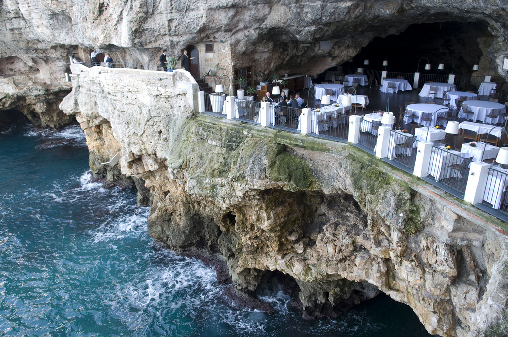 The Outdoor Cave Restaurant As Seen From Hotel Photo By Cameu Flickr