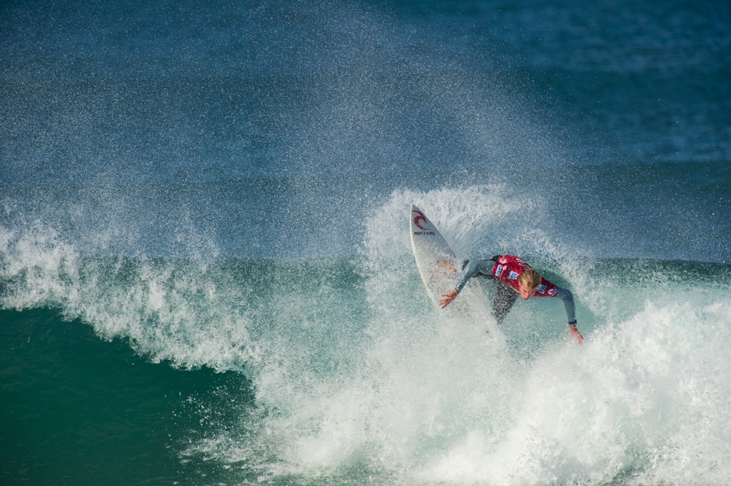 Best surfing in South Africa: A surfer competes in the Billabong championship at Jeffreys Bay, South Africa. Photo by gaftels, flickr