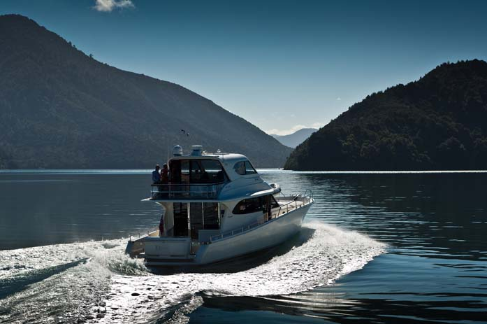 Cruise around the Marborough Sounds. Photo by nirvanacruises.co.nz