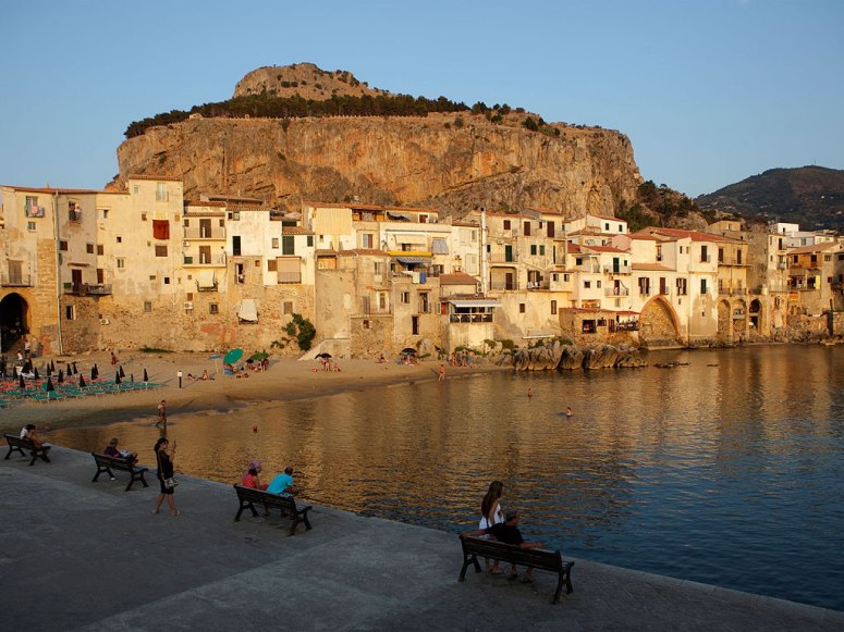 Best beach towns in Italy: Cefalu. Photo by Emmepi Travel